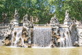 Fountain of the twelve months turin in italy Royalty Free Stock Photography