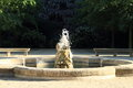 Fountain in Wallenstein garden Royalty Free Stock Photo