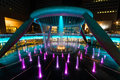 Fountain of wealth at suntec city in singapore Stock Image
