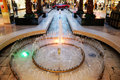 Fountain in west edmonton mall Stock Photography
