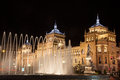 Fountain Zorrilla of Valladolid, Spain, Stock Photos