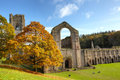 Fountains Abbey Stock Image