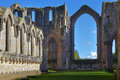 Fountains Abbey Royalty Free Stock Photo