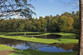 Fountains Abbey Lake Stock Photos