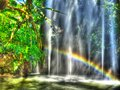 Fountains With Rainbow