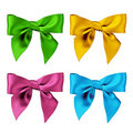Four Bows Stock Images