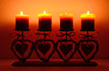 Four candles Royalty Free Stock Image