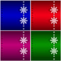 Four Christmas background. Royalty Free Stock Photography