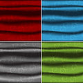 Four color curtains Royalty Free Stock Photos
