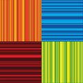 Four color stripes Royalty Free Stock Photography