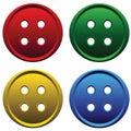 Four color studs Stock Photos