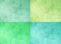 Four colors tone ice background Royalty Free Stock Photo