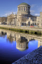 The Four Courts 1802 - Dublin, Ireland (Irland) Stock Photos