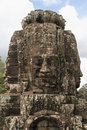 Four Faces of Bayon Royalty Free Stock Photos