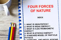 Four Forces Of Nature Lecture