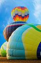 Four hot Air Balloon Stock Photography