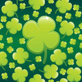 Four Leaf Clover Background EPS Royalty Free Stock Images