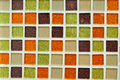 Four many four various tiles congregate background in the Stock Images