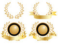 Four Medals of Achievement Royalty Free Stock Photo
