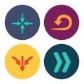 Four new simple arrows