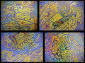 Four old maps