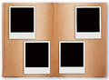 Four Polaroid Frame With Old B...