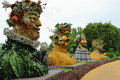 Four Seasons Statues Royalty Free Stock Photo