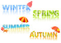 Four Seasons, Text,