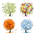Four Seasons Tree - Spring, Su...