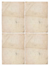 Four sheets of aged paper illustration or weathered Royalty Free Stock Photography