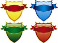 Four Shields Stock Image