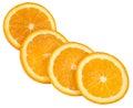 Cuatro de naranja