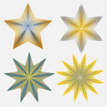 Four stars vector created in adobe illustrator Stock Photography