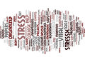 Four Steps To Combat College Stress Text Background  Word Cloud Concept Royalty Free Stock Photo