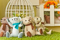 Four teddy bears Royalty Free Stock Photo