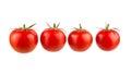 Four tomatoes Royalty Free Stock Photo