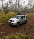 Four Wheel driving Australia Royalty Free Stock Photo