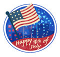 Fourth of July Clip art Royalty Free Stock Photo