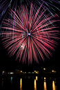 Fourth of July Fireworks Royalty Free Stock Images