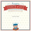 Fourth of July Invitation
