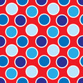 Fourth of July Polka Dots Royalty Free Stock Images