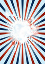 Fourth Of July Poster background Royalty Free Stock Photos