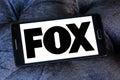 Fox broadcasting company logo Royalty Free Stock Photo