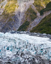 Fox glacier west coast south island new zealand Royalty Free Stock Photo