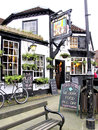 The Fox and Hounds, Lyndhurst, Hamps.. Royalty Free Stock Photo
