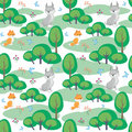 fox and lynx pattern