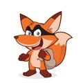 Fox thief Royalty Free Stock Photo