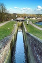 Foxton locks Stock Images