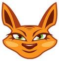 Foxy Face Royalty Free Stock Photo