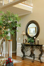 Foyer of Upscale Home Royalty Free Stock Photo